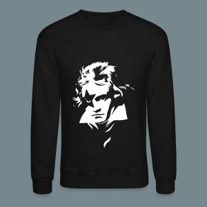 Beethoven Kiss Black Metal - Crewneck Sweatshirt