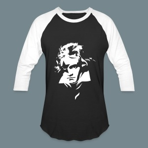 Beethoven Kiss Black Metal - Baseball T-Shirt