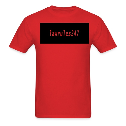 lawrules247 shirt  - Men's T-Shirt