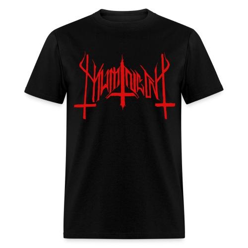 Mumin  - Visor Från Muminskogarnas Mörker Röd/Svart - T-Shirt - Men's T-Shirt