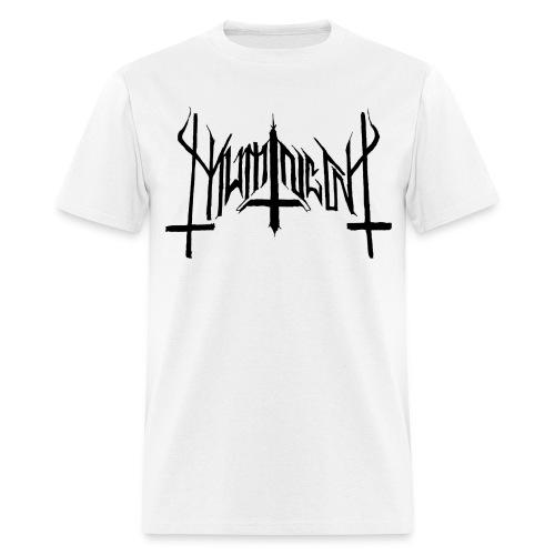 Mumin  - Visor Från Muminskogarnas Mörker Vit/Svart - T-Shirt - Men's T-Shirt