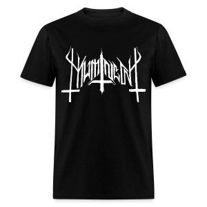 Mumin  - Visor Från muminskogarnas Mörker Svart/Vit - T-Shirt - Men's T-Shirt