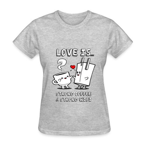Tom's Tees Love is  - Women's T-Shirt