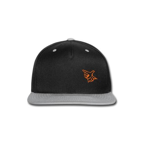 EL Baseball Orange Match Logo - Snap-back Baseball Cap