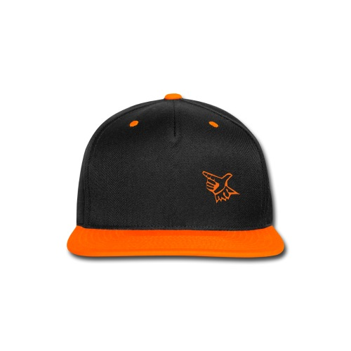 EL Baseball Orange Match Logo - Snap-back Baseball Cap