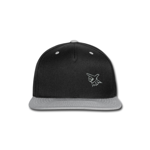 EL Baseball Gray Match Logo - Snap-back Baseball Cap