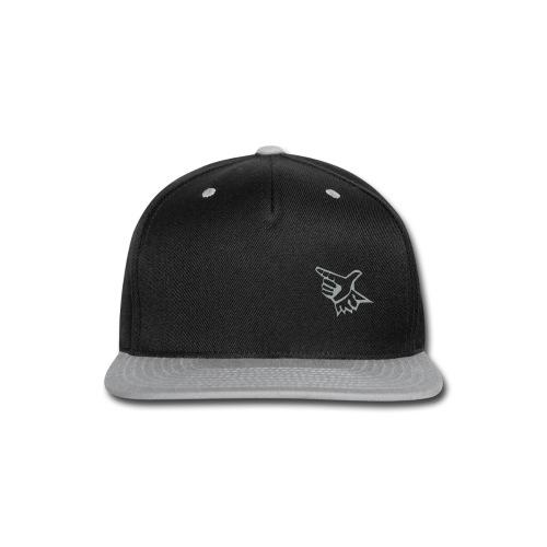 EL Baseball Gray Match Logo - Snap-back Baseball Cap