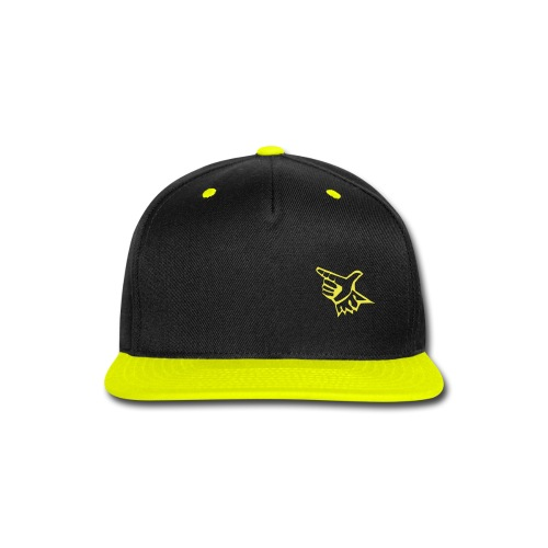 EL Baseball Yellow Match Logo - Snap-back Baseball Cap