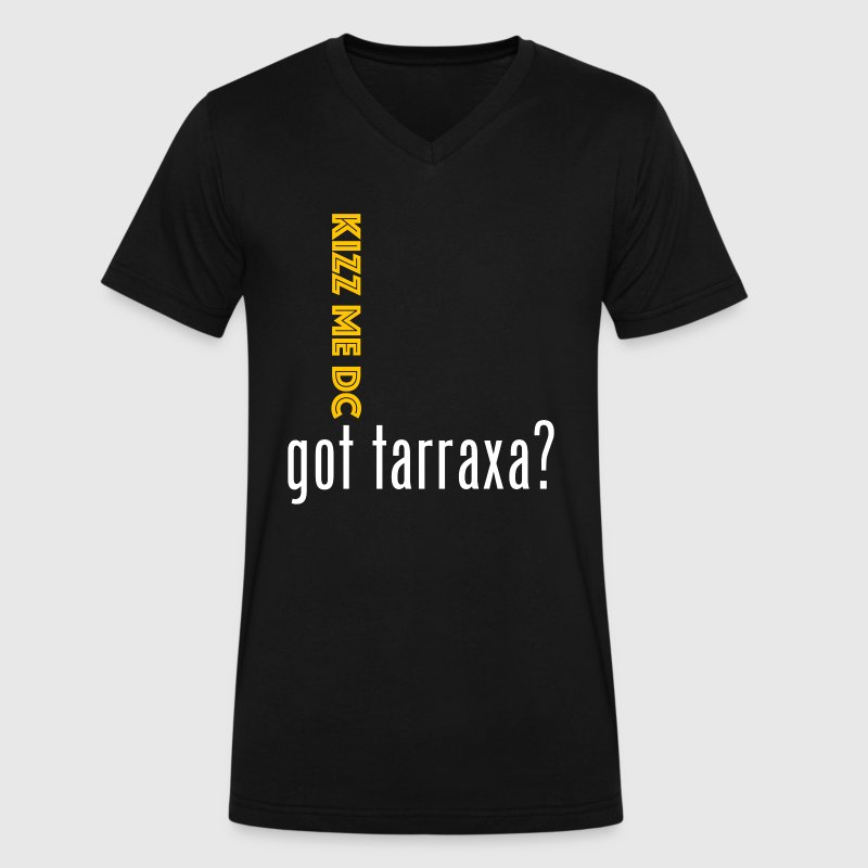 Kizz Me DC Got Tarraxa V Neck - Men's V-Neck T-Shirt by Canvas