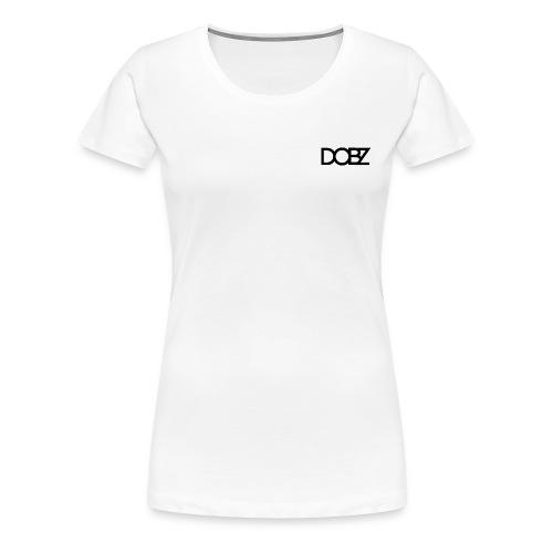 DOBZ Premium Womens T-Shirt - Women's Premium T-Shirt
