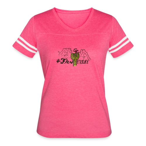 Vintage Flex Friday T-shirt - Women's Vintage Sport T-Shirt