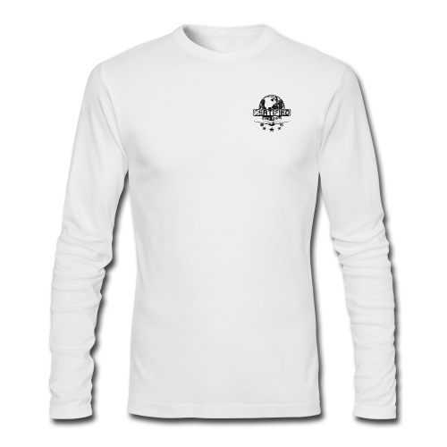 Men Long Sleeve (black logo) - Men's Long Sleeve T-Shirt by Next Level