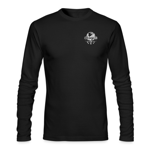 Men Long Sleeve (white logo) - Men's Long Sleeve T-Shirt by Next Level
