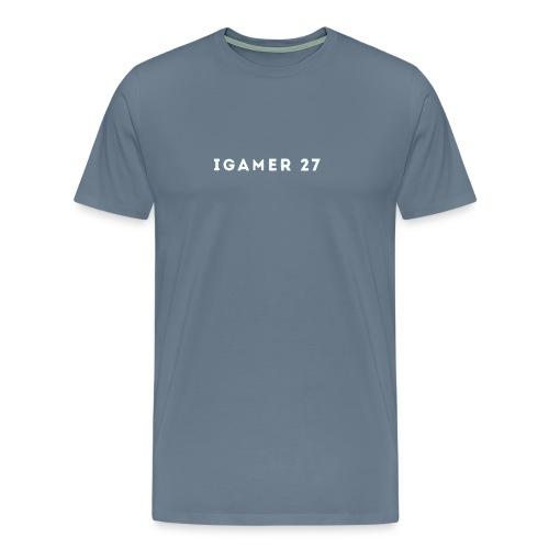 iGamer 27 logo Men's T-Shirt - Men's Premium T-Shirt