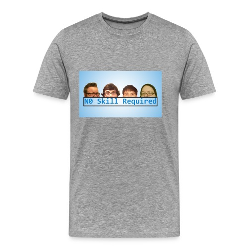 N0 Skill Required Men's Cover Art Shirt  - Men's Premium T-Shirt