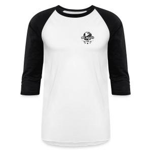Men Baseball Shirt (black logo) - Baseball T-Shirt