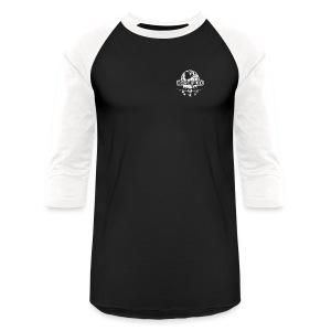 Men Baseball Shirt (white logo) - Baseball T-Shirt