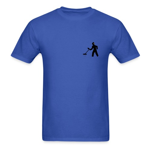 Detectorist Sillouette - Men's T-Shirt