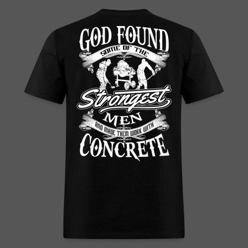 Concrete Worker 01 - Men's T-Shirt