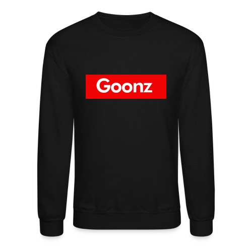 Box Logo Crewneck - Black - Crewneck Sweatshirt