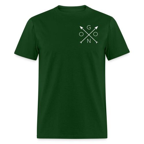 Cross Tee - Green - Men's T-Shirt
