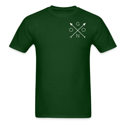 Cross Tee - Green - Men's T-Shirt