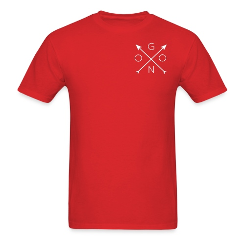 Cross Tee - Red - Men's T-Shirt