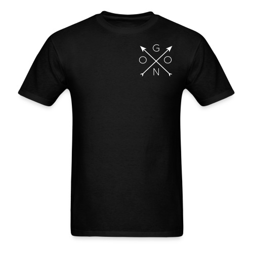 Cross Tee - Black - Men's T-Shirt
