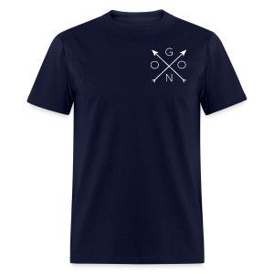 Cross Tee - Navy - Men's T-Shirt