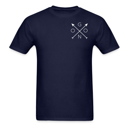 Cross Tee - Navy - Men's T-Shirt