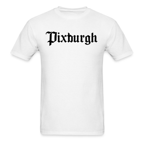 Pixburgh Old English  - Men's T-Shirt