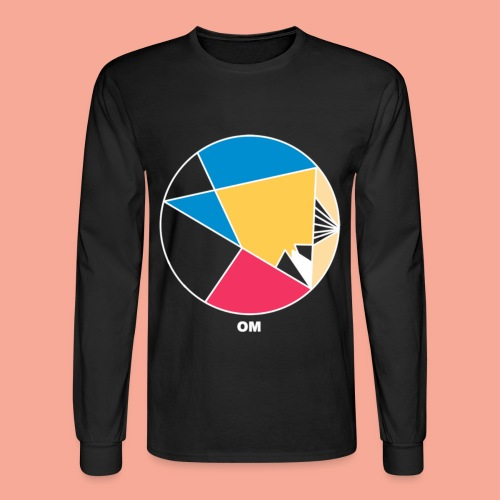 Color Wheel - Men's Long Sleeve T-Shirt