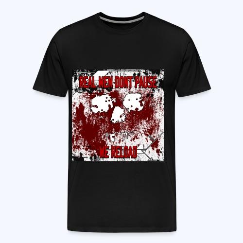 SavageCasts Bloodied Logo - Men's Tee - Men's Premium T-Shirt
