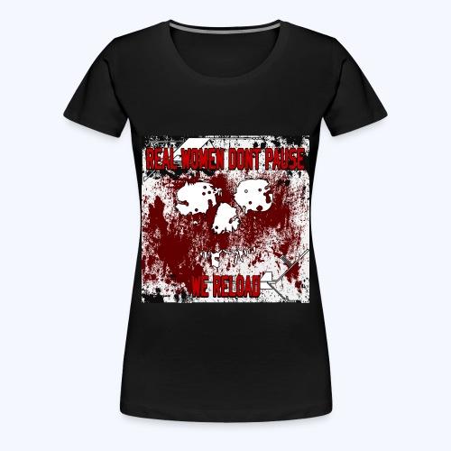 SavageCasts Bloodied Logo - Women's Tee - Women's Premium T-Shirt