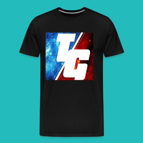 LIMITED EDITION TG LOGO T-SHIRT 2.0 - Men's Premium T-Shirt