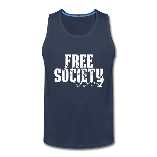 Free Society (Tank Top) - Men's Premium Tank
