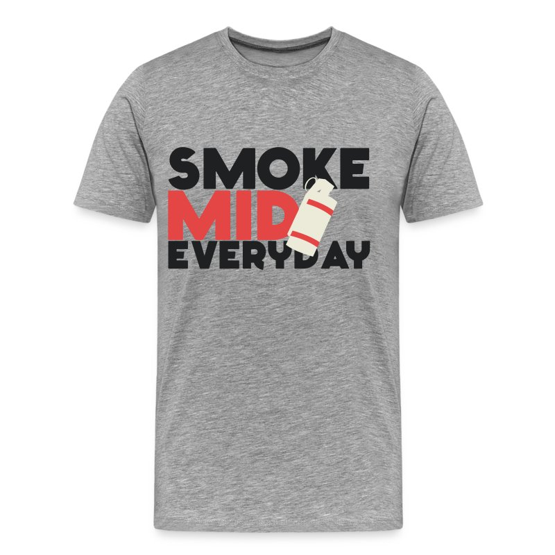 Smoke Mid Everyday CS:GO Red - Men's Premium T-Shirt