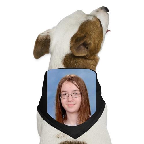 Black Doggo Bandana Brady's face - Dog Bandana