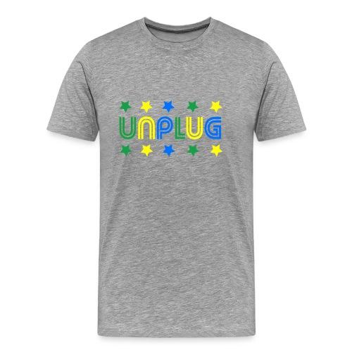 DDJ UNPLUG (Brazil) - Men's Premium T-Shirt