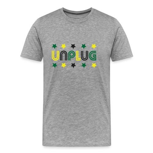 DDJ UNPLUG (Jamaica) - Men's Premium T-Shirt