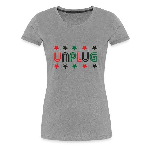 DDJ UNPLUG (RBG Sisters) - Women's Premium T-Shirt