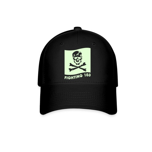 VFA-103 BALL CAP - GLOW IN THE DARK GRAPHICS - FEAR THE BONES - Baseball Cap