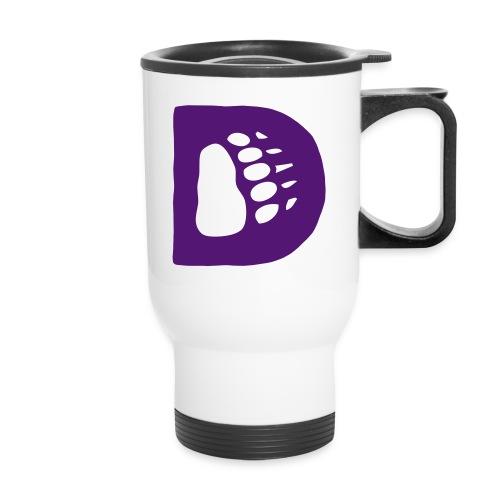 The Disney Bears Thermal Beverage Cup -D Logo - Travel Mug