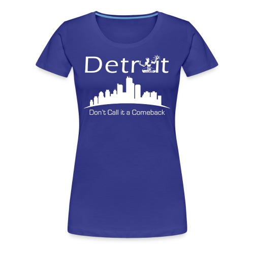 Detroit City Tee - Womens - Women's Premium T-Shirt
