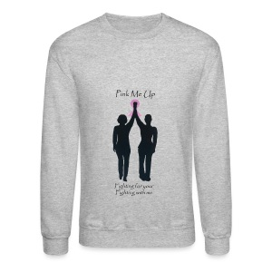 PInk Me Up Sweat Shirt - Crewneck Sweatshirt