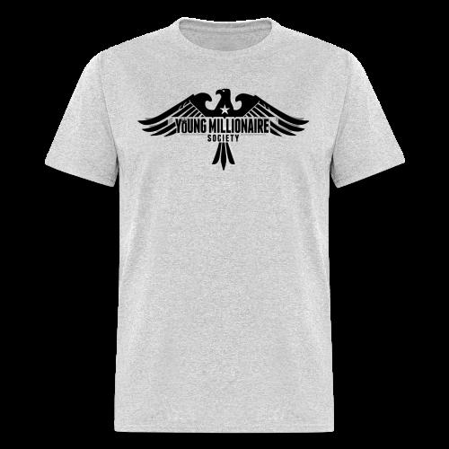 YMS Mens Grey T-shirt - Men's T-Shirt