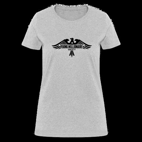 YMS Women's Grey T-shirt - Women's T-Shirt