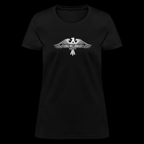 YMS Women's Black T-shirt - Women's T-Shirt