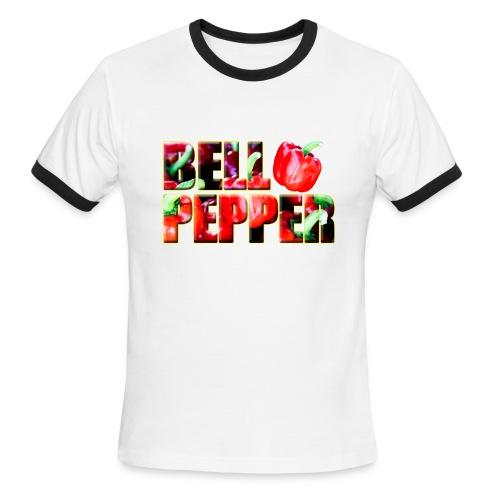TIM Bell Pepper Right Ringer - Men's Ringer T-Shirt