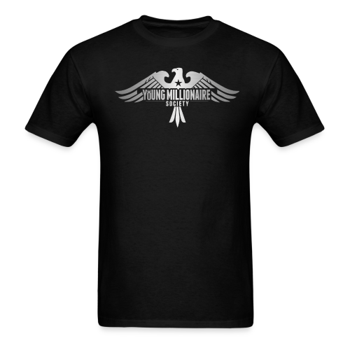 YMS Mens Black T-shirt - Men's T-Shirt